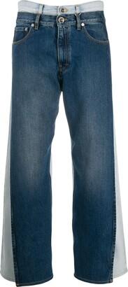 Maison Margiela double-denim jeans