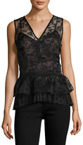 Tracy Reese Burnout Overlay Shell