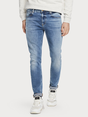 Scotch & Soda Skim - Silver Ripple Super slim jeans | Men