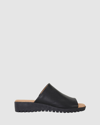 Sandler - Women's Black Sandals - Fate - Size One Size, 38 at The Iconic