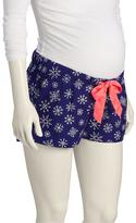 """Old Navy Maternity Patterned Flannel Lounge Shorts (2 1/2"""")"""