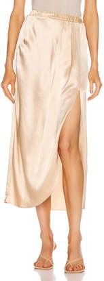 SABLYN Ariel Slit Skirt in Fawn | FWRD