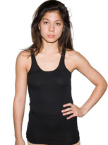 Sheer Jersey Shirred-Neck Tank XS only!