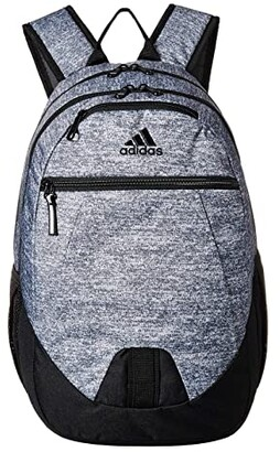 adidas Foundation V Backpack (Onix Jersey/Black) Backpack Bags