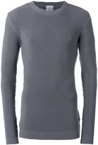 S.N.S. Herning Carbon crew neck jumper - men - Cotton/Spandex/Elastane - M