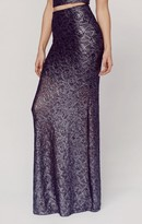 Nightcap Clothing pb exclusive metallic maxi skirt