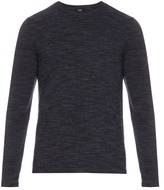 Vince Crew-neck Wool And Cashmere-blend Sweater