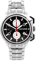 Chevignon Men's Quartz Watch with Black Dial Analogue Display Quartz Stainless Steel 92 0054 503