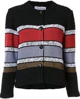Sonia Rykiel buttoned cropped jacket - women - Cotton/Polyamide - XS