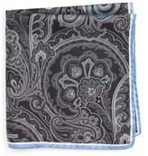 Nordstrom Men's Paisley Silk Pocket Square