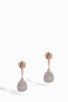 Monica Vinader Nura Diamond Small Pebble Drop Earrings