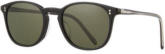 Oliver Peoples Men's Finley Vintage Round Acetate Sunglasses