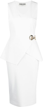 Le Petite Robe Di Chiara Boni Wrap-Style Sleeveless Dress