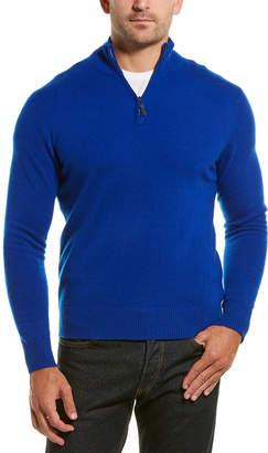 Qi 1/4-Zip Mock Sweater