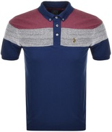 Luke 1977 Mickey Velvet Polo T Shirt Blue