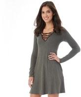 Iz Byer Juniors' Strappy V-Neck Sweater Dress