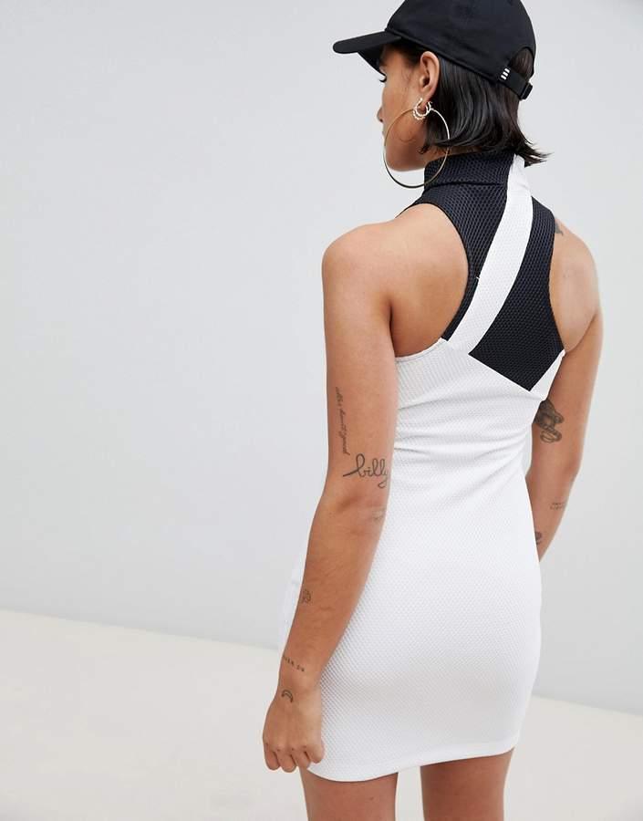 adidas Berlin Mesh High Neck Dress