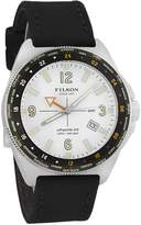 Filson 10000317 Men's Journeyman White Dial GMT Dive Watch