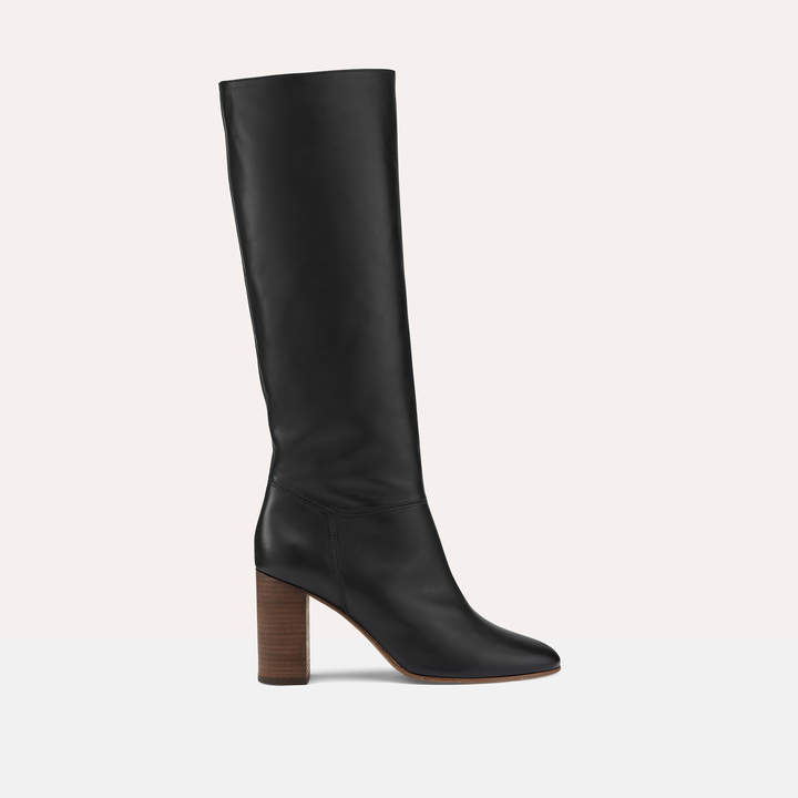 Maje Smooth leather boots