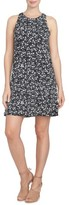 CeCe Women's Twist Back Ditsy Floral Dress
