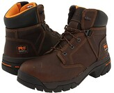 Timberland Helix 6 Alloy Toe (Brown Full-Grain Leather) Men's Work Boots