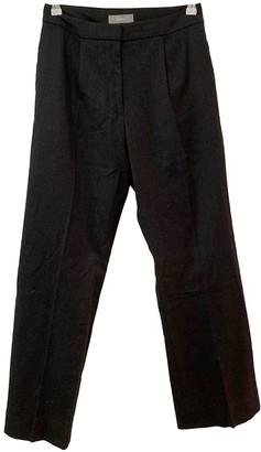 Nicole Farhi Grey Wool Trousers for Women