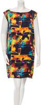 Zero Maria Cornejo Printed Shift Dress