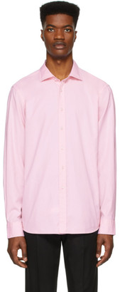 Ralph Lauren Purple Label Pink Oxford Shirt