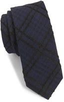 Alexander Olch Men's 'The Jack' Plaid Textured Cotton Tie