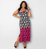 Avenue Ombre Floral Maxi Dress
