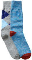 Original Penguin Atrium & Kennedy Crew Socks - Pack of 2