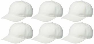 Clementine Apparel Men's CLM-SM-C809-Flexfit Garment-Washed Cap (6 PK)
