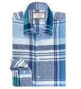 Thomas Pink Summerfield Check Slim Fit Button Cuff Shirt