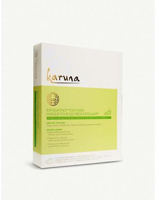 Karuna Na Exfoliating+ Foot Mask, Size: 1x18ml