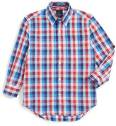 Tailorbyrd Check Dress Shirt (Big Boys)