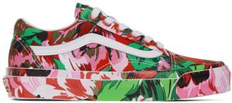 Kenzo Multicolor Vans Edition OG Old Skool LX Sneakers