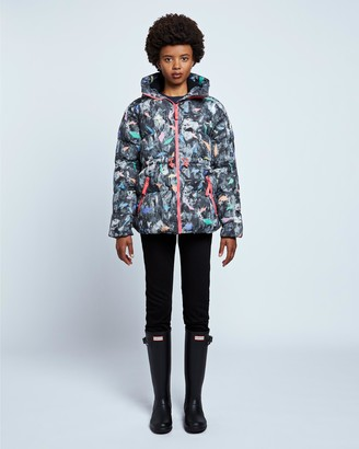 Hunter Women's Original Printed A-Line Puffer Jacket