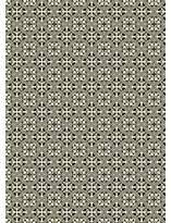 Triston Quad European Design Black/White Indoor/Outdoor Area Rug Charlton Home Rug Size: Rectangle 5' x 7'