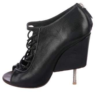 Givenchy Nissa Lace-Up Booties