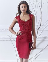 Lipsy Sweetheart Neckline Bodycon Dress