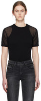 Our Legacy Black Square Round Neck T-Shirt
