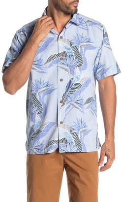 Tommy Bahama South Pacific Pocket Woven Hawaiian Shirt
