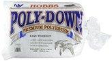 Hobbs 81 x 96-Inch Full Polydown Batting, White