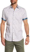 Robert Graham Firefly Short Sleeve Classic Fit Dress Shirt