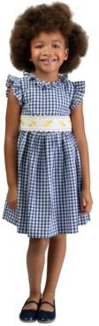 Bonnie Jean Little Girls Seersucker Daisy Dress