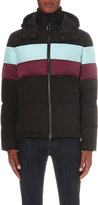 Kenzo Striped Quilted Shell Jacket