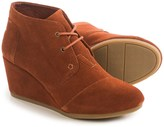 Toms Desert Wedge Ankle Boots (For Women)