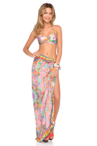 Luli Fama Boho Chic Pareo In Multicolor (L444629)