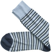 Johnston & Murphy Highway Stripe Socks