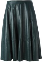 Drome mid-rise draped skirt